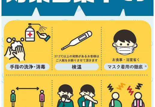 新型コロナウイルスの感染対策